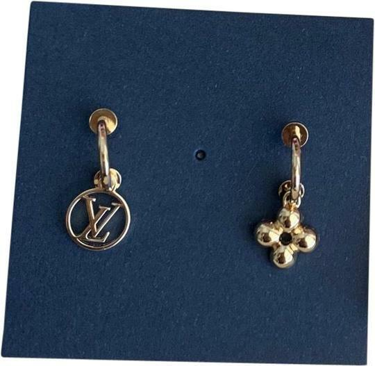 Buy: Gold Lv Earrings