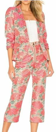 Re-sell: Pink Jackpot Pant Suit