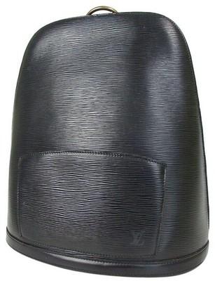 Buy: Gobelins Noir Black Epi Leather Backpack