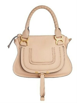Re-sell: CHLOÈ Crossbody Marcie Abstract White Leather Satchel