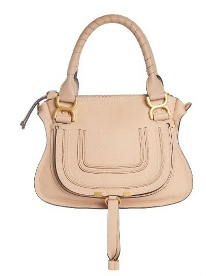 Buy: CHLOÈ Crossbody Marcie Abstract White Leather Satchel