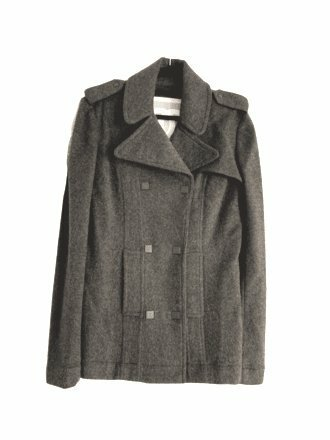 Buy: Grey Cashmere Coat Size 10