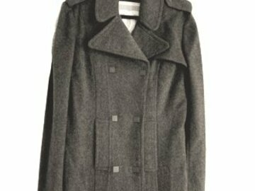 For  Sale: CHANEL Grey Cashmere Coat Size 10