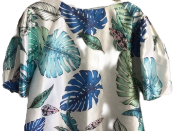 For  Sale: TALULAH Palm print top Size 8
