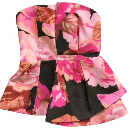 Re-sell: Floral print top Size 8
