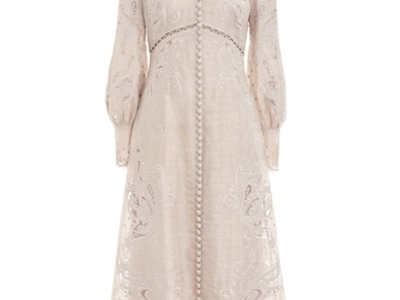 For Rent : ZIMMERMANN  Super Eight Embroidered Dresses Size 10