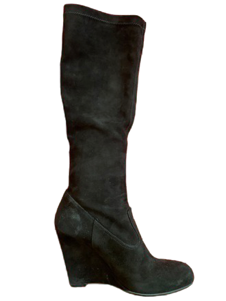 Re-sell: Black Knee High Boots Size 7
