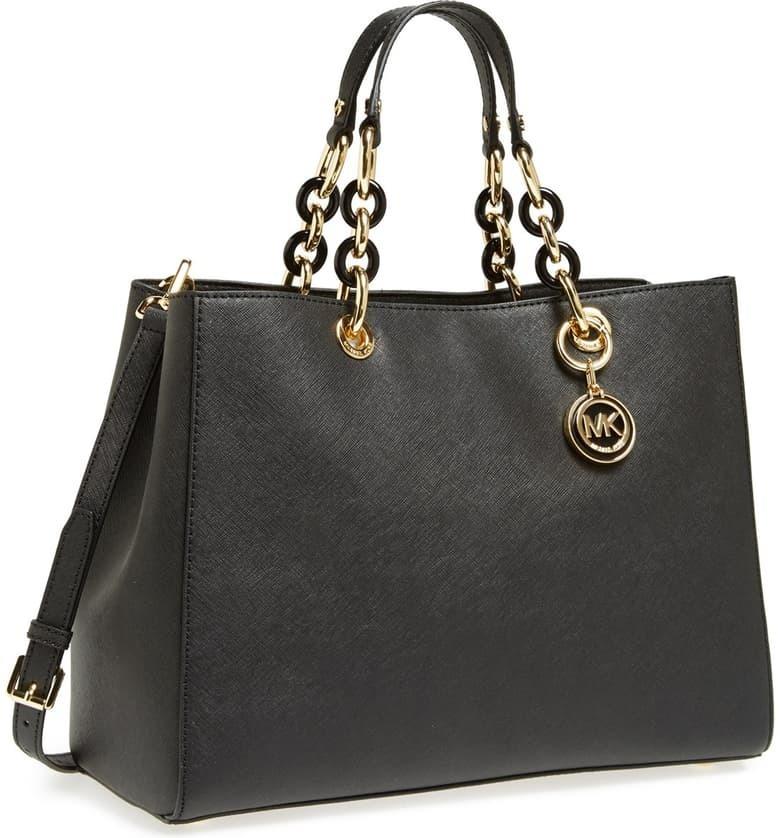Buy: Cynthia Saffiano Leather Satchel