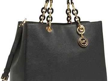 For  Sale: MICHAEL KORS Cynthia Saffiano Leather Satchel