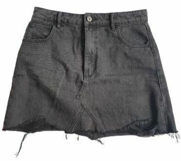 For  Sale: Black Denim skirt Size 10