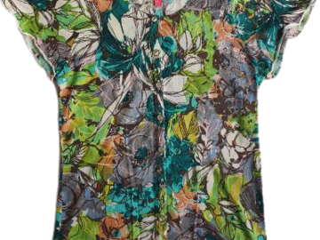 For  Sale: CHARLOTTE Floral Blouse Size 8