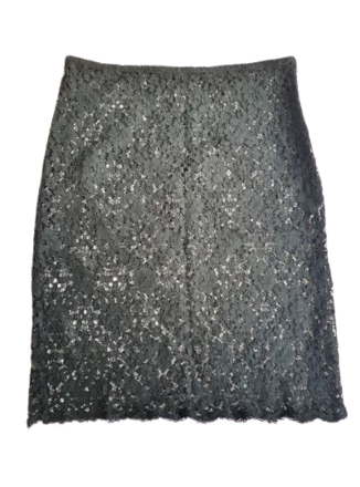 For  Sale: Black lace skirt Size 6