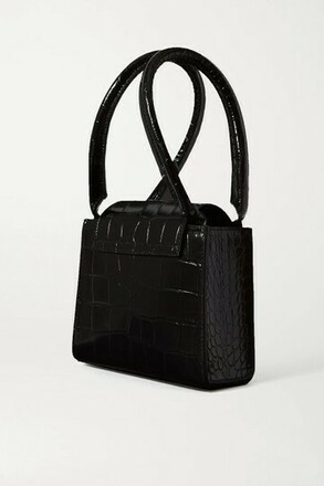 Re-sell: Sabrina Small Croc-effect Leather Tote