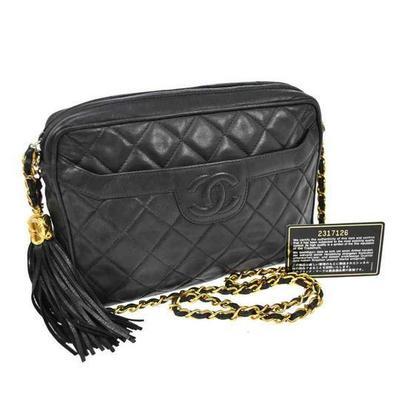 Buy: 2.55 Reissue Matalesse Maxi Black Lambskin Leather Shoulde