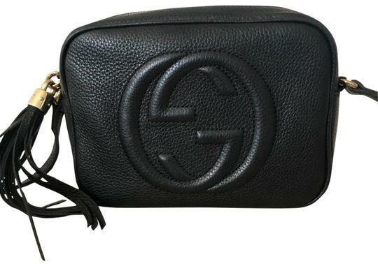 Buy: Soho Disco Black Leather Cross Body Bag