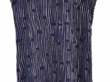 For  Sale: YEOJIN BAE 100% silk blue printed top Size 8