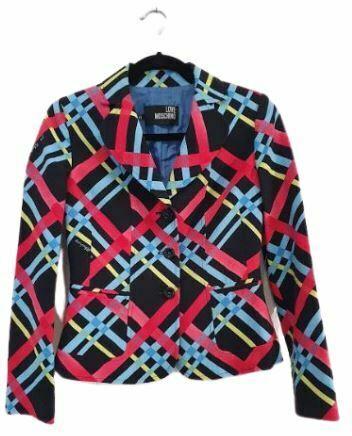 For  Sale: Multicolored Geometrical print Blazer Size 10