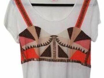 For  Sale: SASS & BIDE white designer T-shirt Size 8
