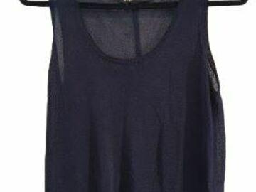 For  Sale: MAJE sleeveless black tank top Size 4