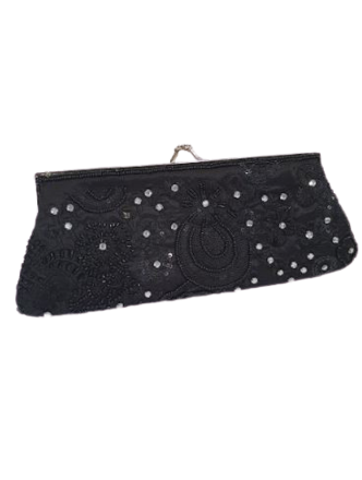 Re-sell: Black Purse Clutch Bag