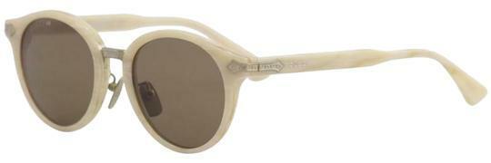 Buy: Beige Horn Sunglasses Titanium