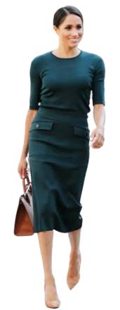 Re-sell: Midi skirt black Size 8