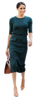 Buy: Midi skirt black Size 8