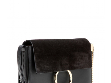For  Sale: CHLOE small Faye black shoulder bag