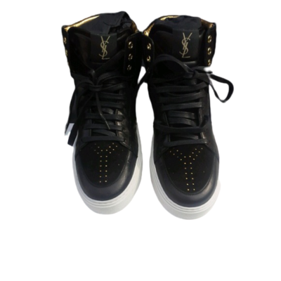 Buy: Black and gold ankle Sneakers Size 7