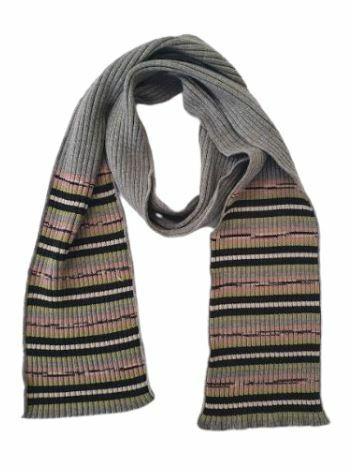 Buy: Grey Wool Scarf