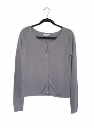 Buy: Grey fine knit cardigan Size 12