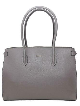 Re-sell: Grey leather bag
