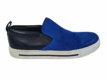 For  Sale: MARC JACOBS blue suede loafer sneakers Size 7.5-8