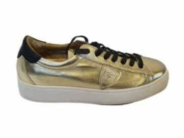 For  Sale: PHILIPPE MODEL Gold Sneakers Size 8.5-9