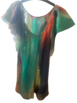 Re-sell: Silk top Size 6