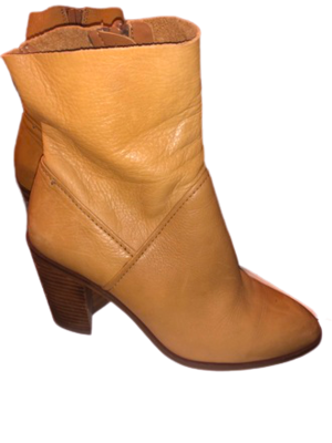 Buy: Camel leather boots Size 7.5