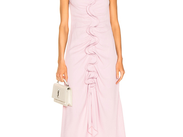 For  Sale: SEIS MARJAN Portia ruffled ruched crepe dress BNWT Size 6