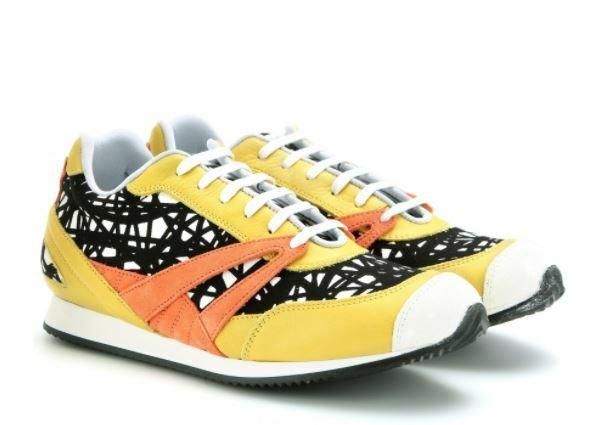 Buy: Printed Leather Sneakers  7.5