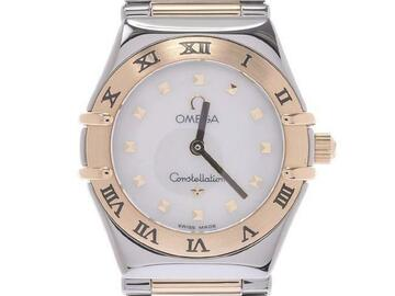 For  Sale: OMEGA Constellation Ladies Quartz Shell Dial Watch