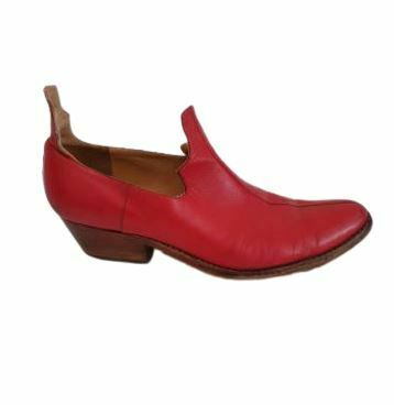For  Sale: Red boat shoes Size 10