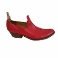 For  Sale: ZAMBESI Red boat shoes Size 10