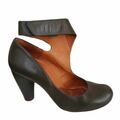 For  Sale: CHIE MIHARA Green leather heels Size 9.5