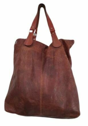 Re-sell: Brown Leather Tote Bag
