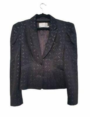 Buy: Black designer Blazer Size 14