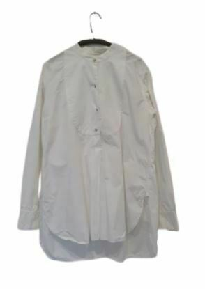 For  Sale: White long sleeve shirt dress Size 12
