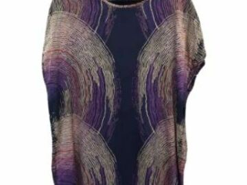For  Sale: CYBELE printed silk dress Size 12