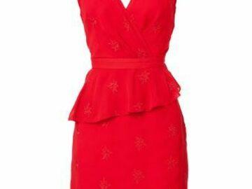 For  Sale: FLEURETTE BY FLEUR WOOD Scarlet Tuck detail dress Size 6