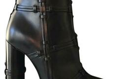 For  Sale: TOM FORD Black New Patchwork Leather Boots/Booties