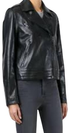 For  Sale: Black And Classic Leather Biker Jacket