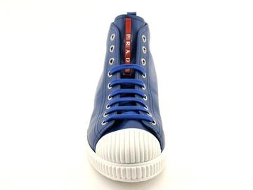 For  Sale: PRADA Blue Donna Nappa Sneakers